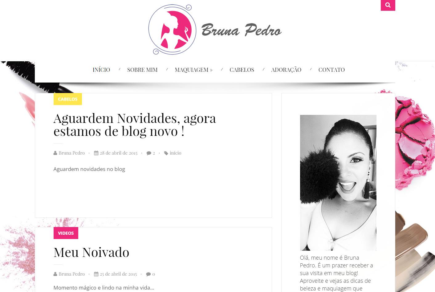 Cliente de Desenvolvimento de Sites em Piracicaba - Bruna Pedro